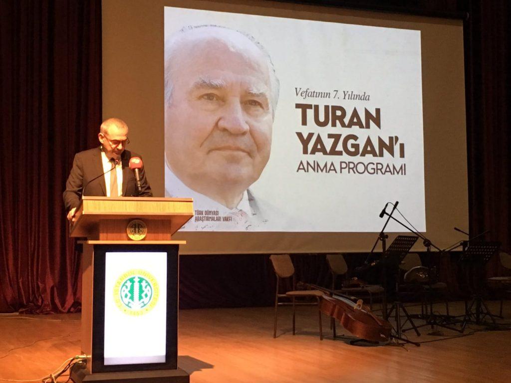 Turan Yazgan'ı Anma Etkinliği