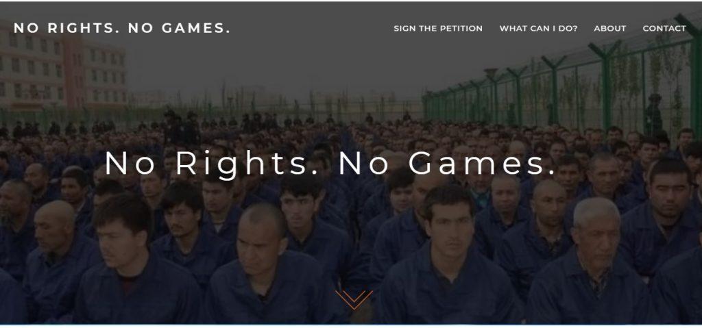 uygurtürkleri pekin olimpiyatlara toplama kamplarına karşı mücadele