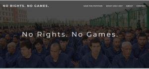2022 Pekin Olimpiyatları İptal Edilsin!