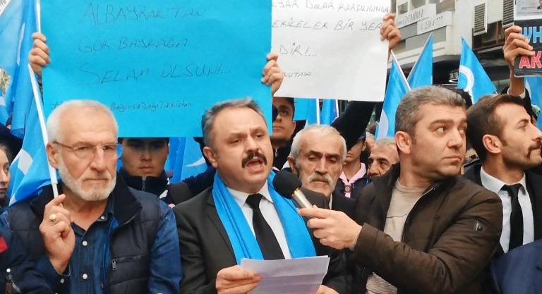 Yürüyüş, Basın Açıklaması, Uygur, Doğu Türkistan