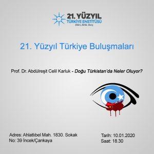 Abdülreşit Celil Karluk: Doğu Türkistan'da neler oluyor?