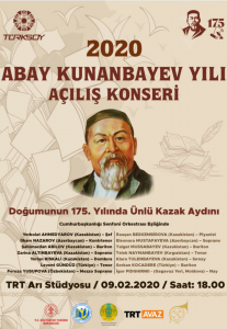 2020 Abay Kunanbayev Yılı Açılış Konseri