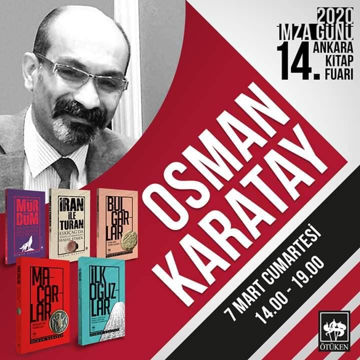 Osman Karatay 14. Ankara Kitap Fuarında