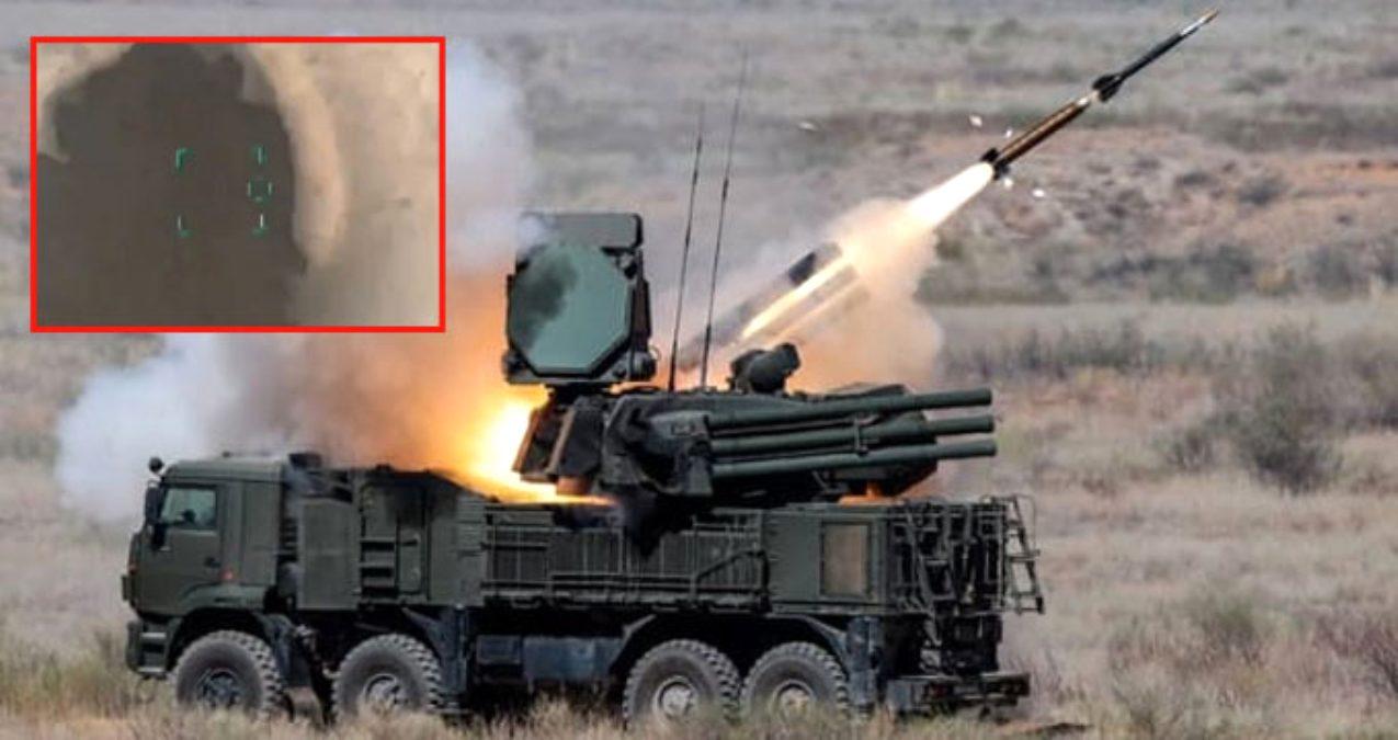 Rus malı Pantsir Türkiye'nin operasyonunda imha edildi.