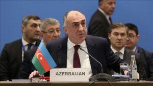 Azerbaycan Dışişleri Bakanı Elmar Memmedyarov.