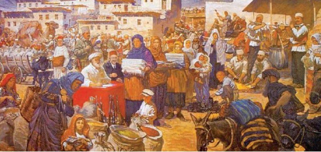 Tek millet, Bağış ve Türk Milleti