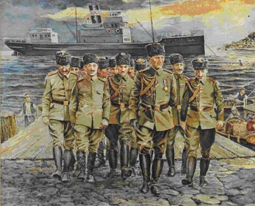 Bağımsızlığa giden yol: Mustafa Kemal Bandırma Vapuru'yla Anadolu'da