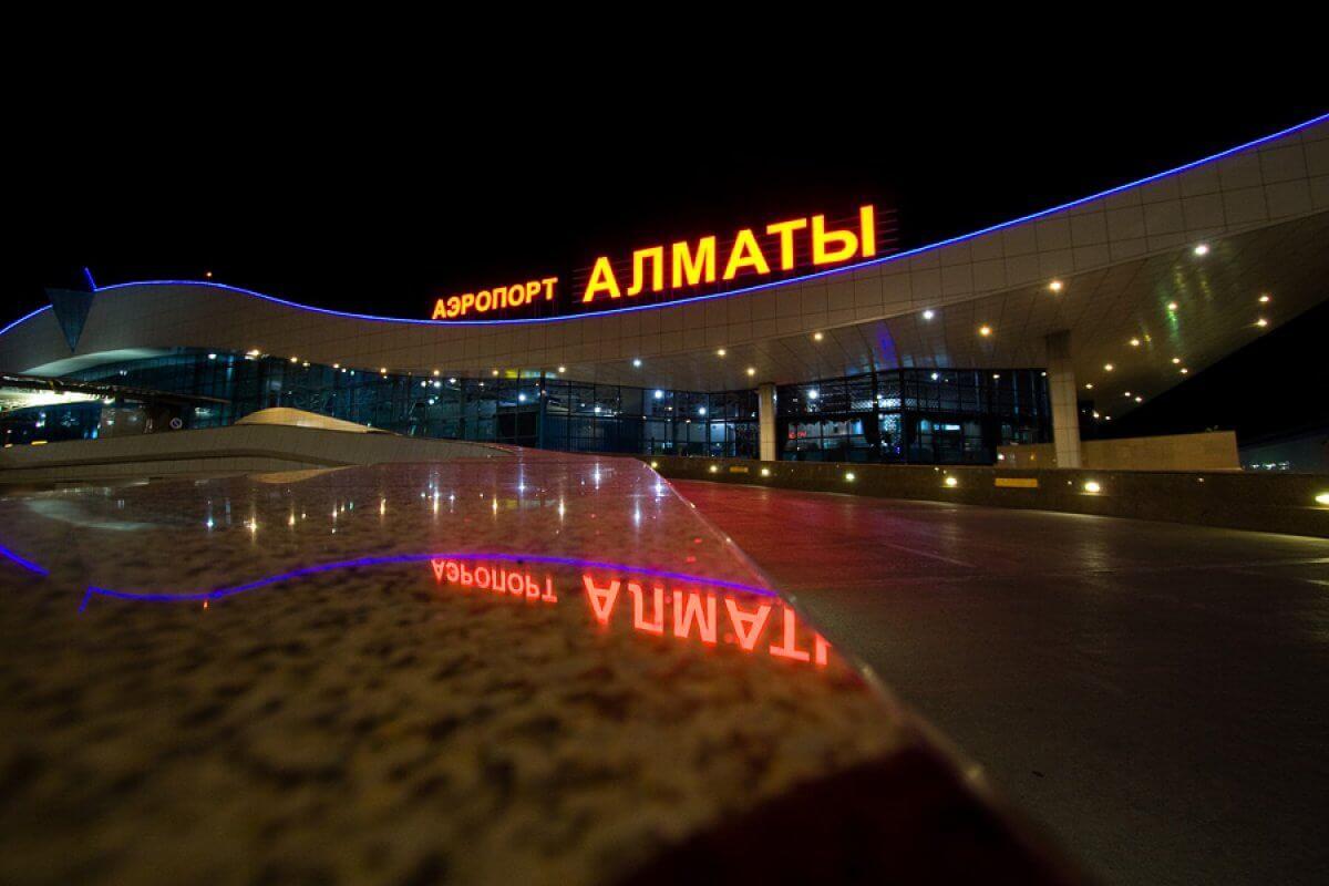 Almatı'da yeni terminal