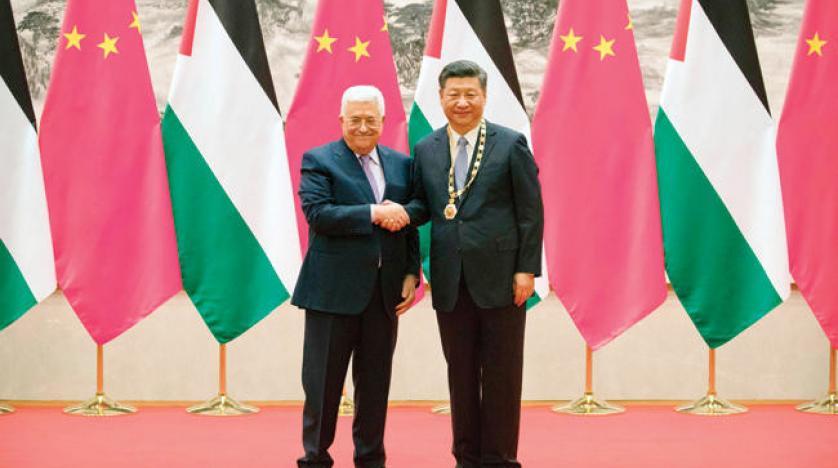 Filistin lideri Mahmut Abbas Çin'i savundu