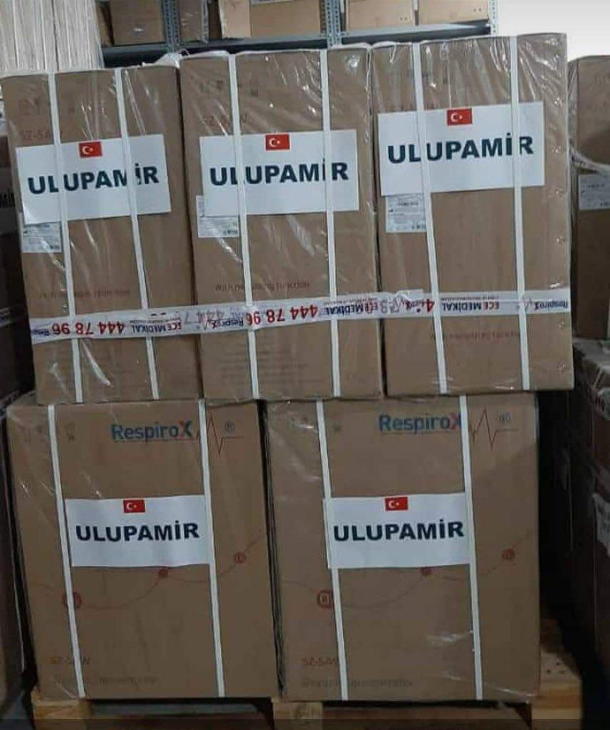 Van'daki Kırgız Türklerinden Kırgızistan'a yardım