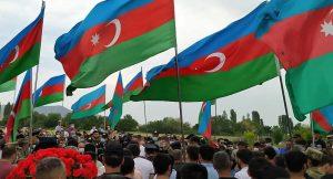 Azerbaycan'da şehit var