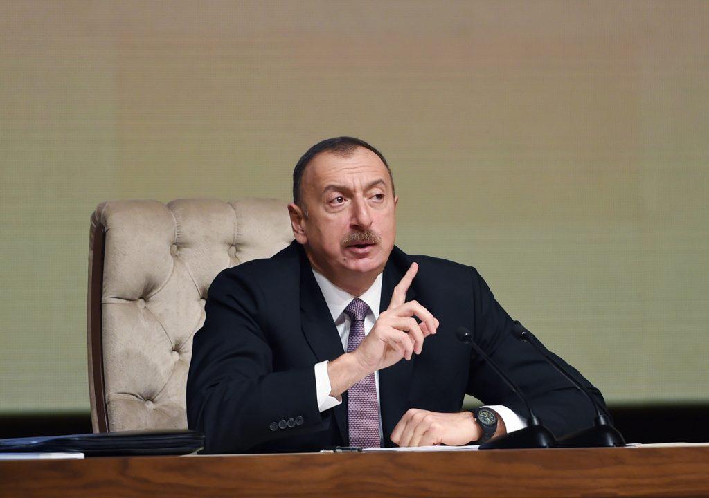 Aliyev: Karabağ'ın İran sınırı tamamen kurtarıldı