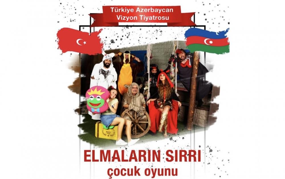 Türkiye-Azerbaycan Vizyon Tiyatrosu, yeni mevsiminin ilk oyununu çocuklara ayırdı