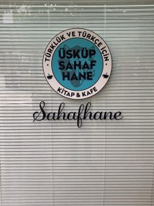 Üsküp'ün ilk Türk kitapçısı açıldı
