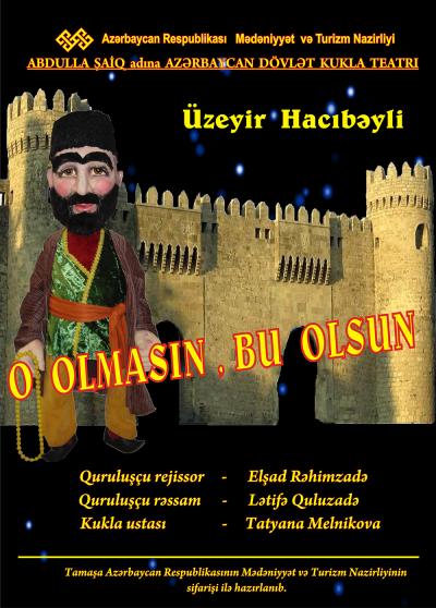 Azerbaycan Kukla Tiyatrosu, oyunlarını çevrim içi erişime açıyor