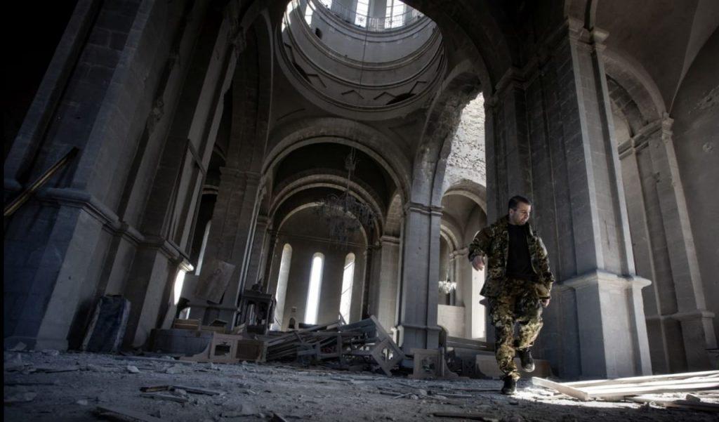 Litvalı fotojurnalist Qarabağda erməni yalanlarını ifşa etdi