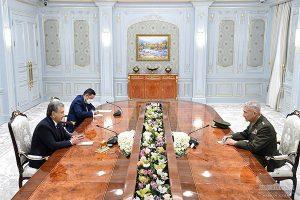 Özbekistan Cumhurbaşkanı, ABD temsilcisini kabul etti