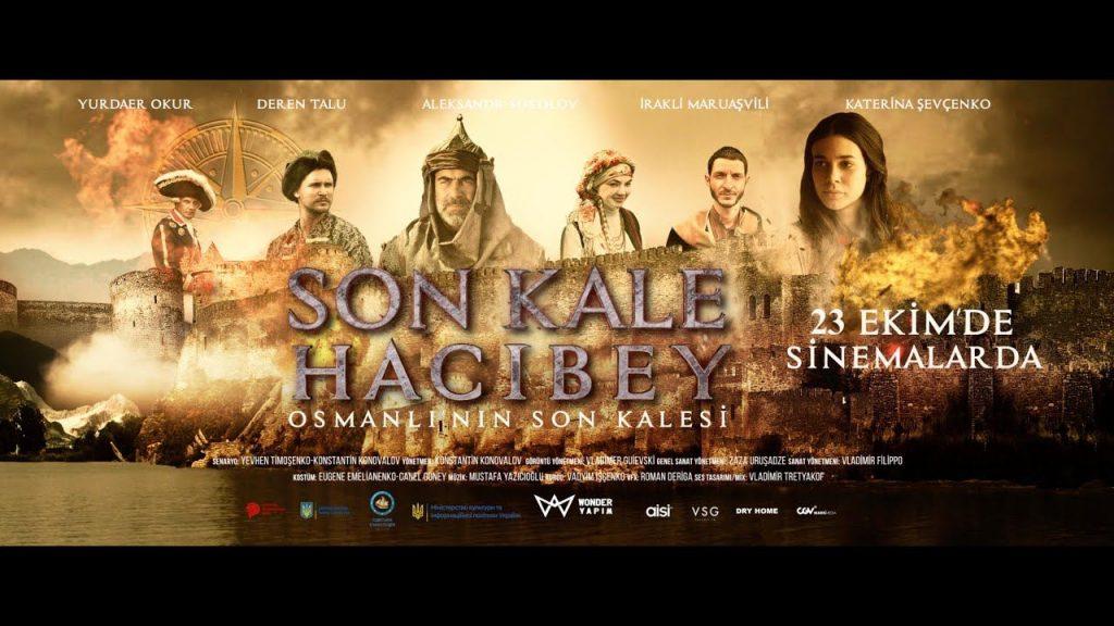 """Türkiye-Ukrayna-Gürcistan ortak yapımı """"Son Kale Hacıbey"""" filmi gösterime girdi"""