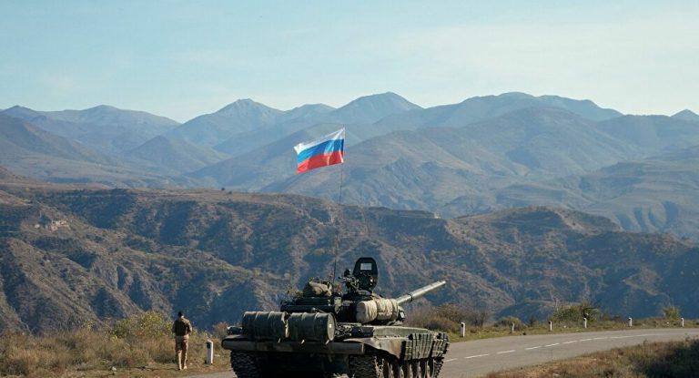 Rus askeri Karabağ'da