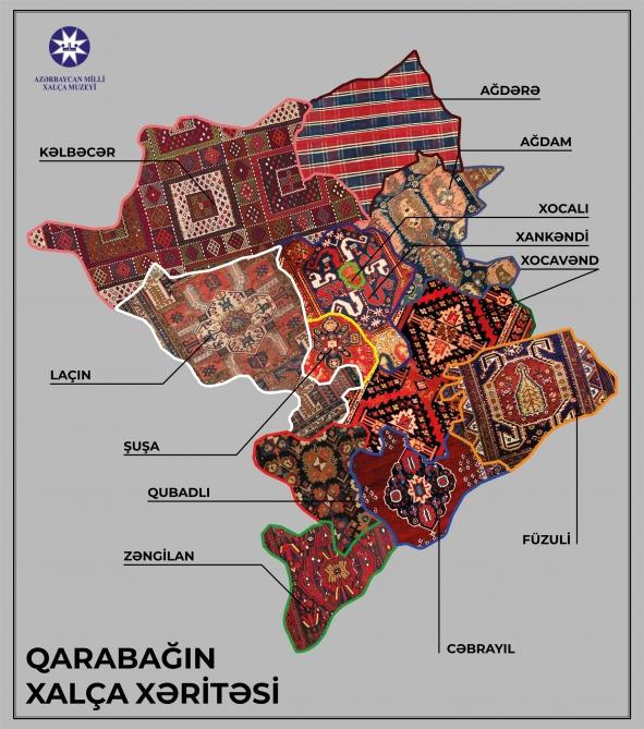 """""""Karabağ'ın Halı Haritası"""" tamamlandı"""