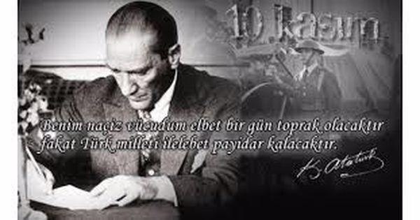 Atatürk'ü anma -I