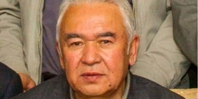 Tutuklu Uygur Türkü şair ve bilimadamı