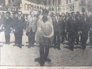 Eski Türkiye'den bir Üniversite Direnişi