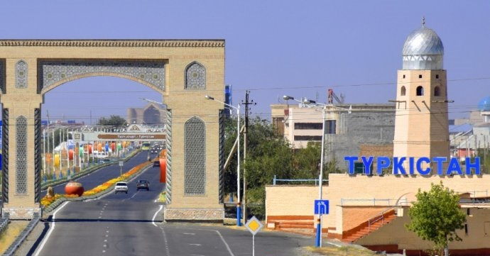 """Türkistan şehri, """"Dünya Mirası Kentleri"""" listesine katıldı"""