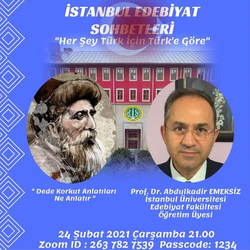 İstanbul edebiyat sohbetleri