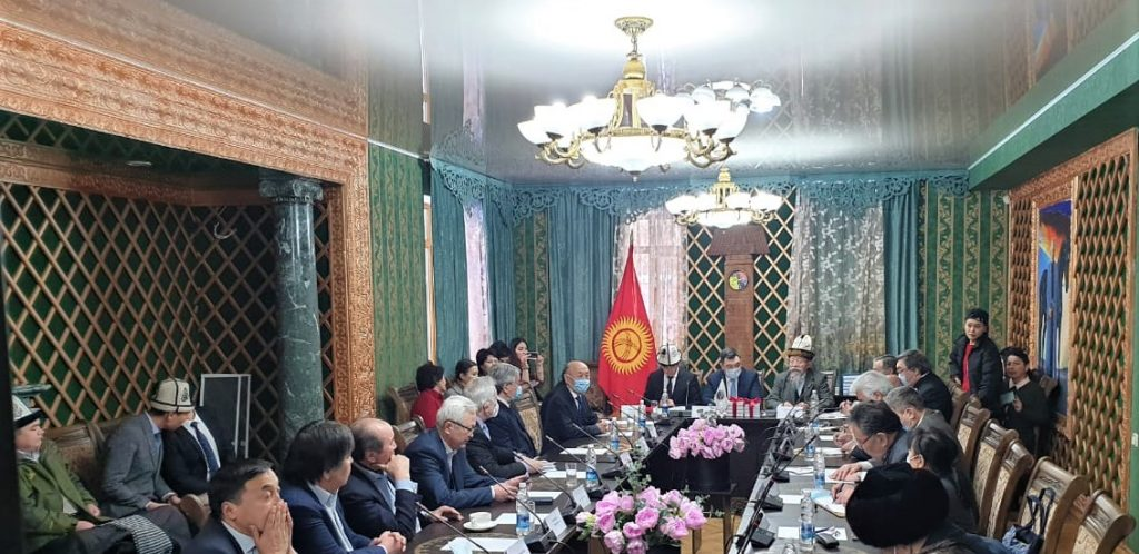 """Türk Akademisinden """"Jambul: Kazak ve Kırgızlar'ın Ortak Ozanı"""" konulu toplantı"""