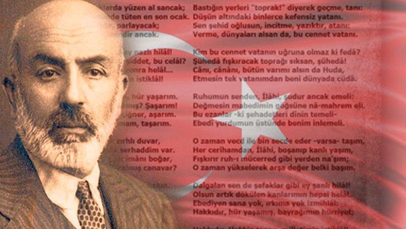 """2021 yılı """"Mehmet Âkif ve İstiklâl Marşı Yılı"""" olarak kutlanacak"""