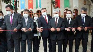 Türk cumhuriyetlerinin büyükelçileri Hatay'da bir araya geldi