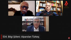 Bilgi Şöleni'nde Alparslan Türkeş'i konuştuk