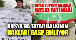 Artan Rus baskısına karşı Tatarlar açıklama yayınladı