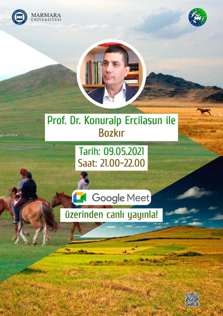 Prof. Dr. Konuralp Ercilasun ile Bozkır