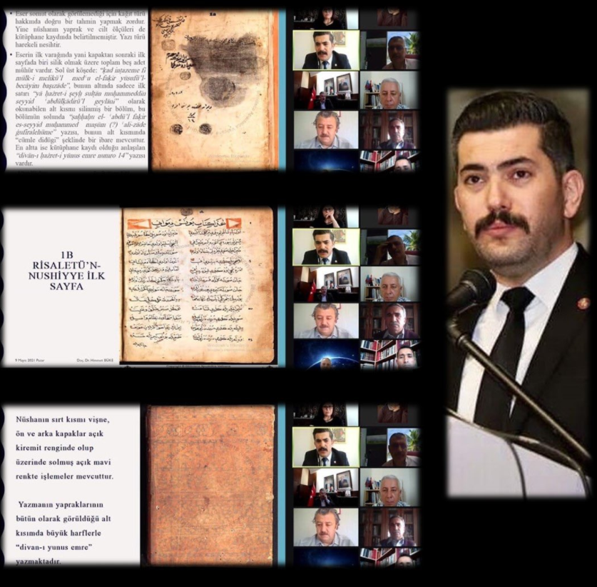 Vatikan arşivinde Yunus Emre divanı