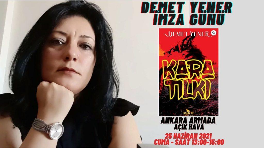 Demet Yener – Ankara Kitap ve Sahaf Fuarı'nda