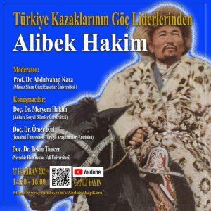Türkiye Kazaklarının Göç Liderlerinden Alibek Hakim