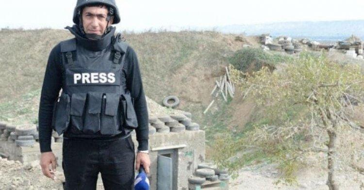 Azerbaycan Türkü basın mensupları mayına bastı