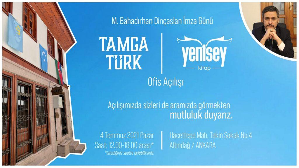 Tamga Türk ve Yenisey kitap ofis açılışı