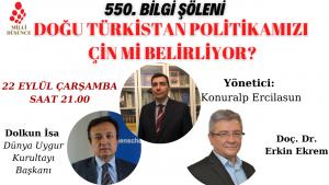 Doğu Türkistan Politikamızı Çin Mi Belirliyor?
