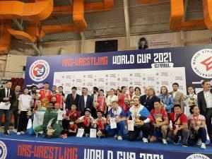 Dünya Mas Güreşi Şampiyonası İstanbul'da gerçekleşti