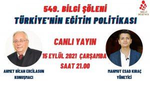 Türkiye'nin Eğitim Politikası