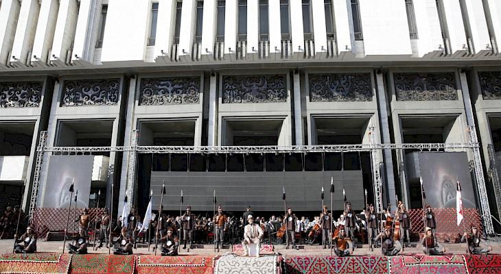 Bişkek'te Dünya Halk Destanları Festivali yapıldı