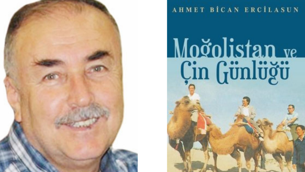 Arslan Tekin, 'Moğolistan ve Çin Günlüğü'nü tanıttı