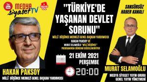 Türkiye'de yaşanan devlet sorunu