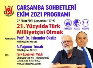 21. yüzyılda Türk milliyetçisi olmak