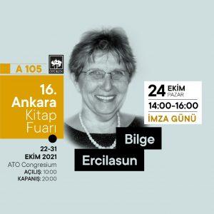Prof. Dr. Bilge Ercilasun 16. Ankara Kitap Fuarı'nda
