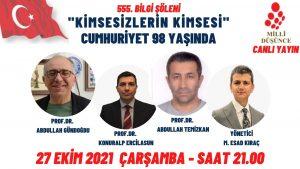 """""""Kimsesizlerin Kimsesi"""" Cumhuriyet 98 yaşında"""