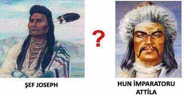 Kızılderililerle Akrabalığımız
